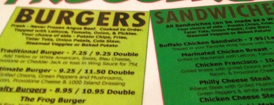 Froggers Grill & Bar is one of Places to Eat in Lake Mary/ Heathrow Area.