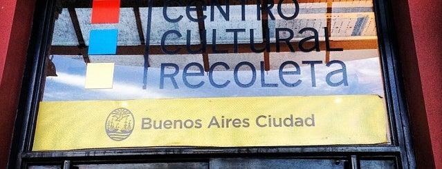 Centro Cultural Recoleta is one of Lugares que visité.