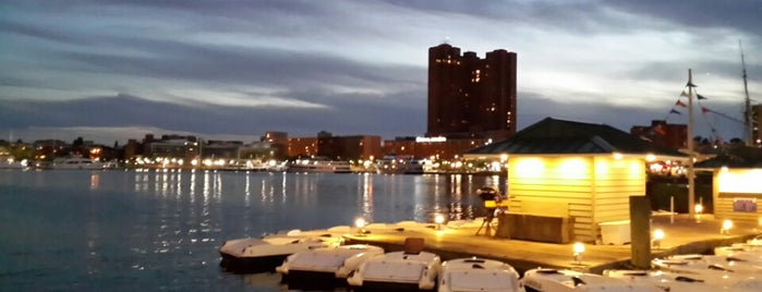 Inner Harbor Public Dock is one of The Great Outdoors.
