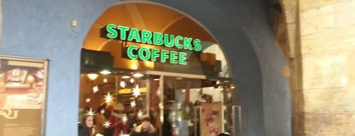 Starbucks is one of Prague.