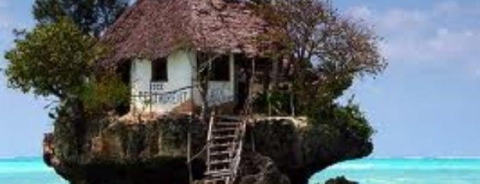 The Rock Restaurant Zanzibar is one of Dream Destinations.