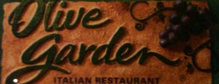 Olive Garden is one of good eats.