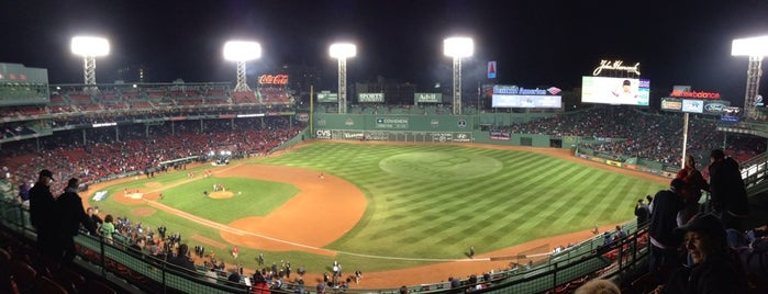 Fenway Park is one of Boston Hits.