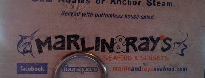 Marlin & Rays is one of Restaurant To Do List.