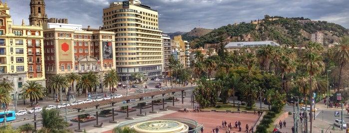 Plaza de la Marina is one of 101 cosas que ver en Málaga antes de morir.