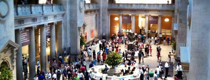 The Metropolitan Museum of Art is one of NYC.