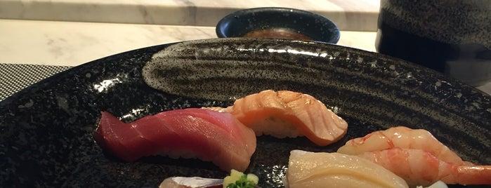Sushi Tsuraku is one of HK.