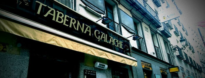 Taberna Galache is one of Madrid: de Tapas, Tabernas y +.