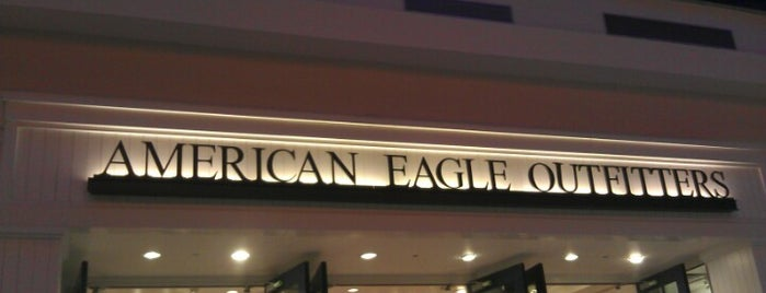 American Eagle Outfitters is one of Soho spring NY.