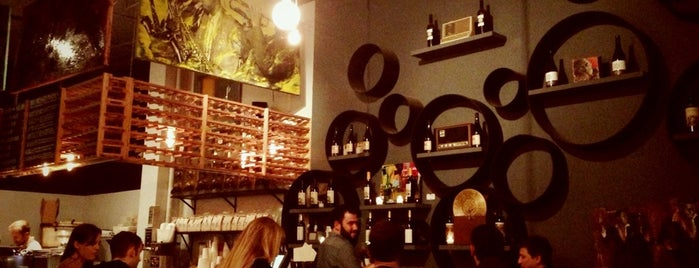 Vinyl Coffee & Wine Bar is one of Coffee shops in SF.