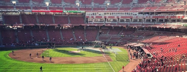 Great American Ball Park is one of MLB parks.
