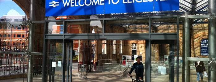 Leicester Railway Station (LEI) is one of places.