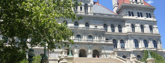 New York State Capitol is one of Albany NY.