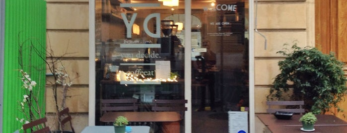 You Decide is one of Best Coffee Shops Paris.