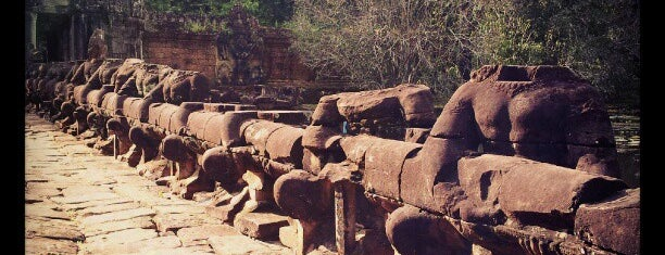 Preah Khan is one of Cambodia.