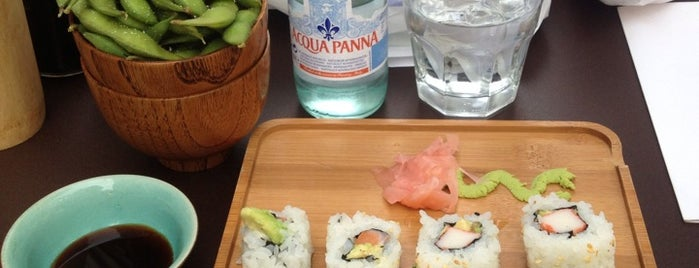 Hello Sushi is one of MY AMSTERDAM // LUNCH // BRUNCH.