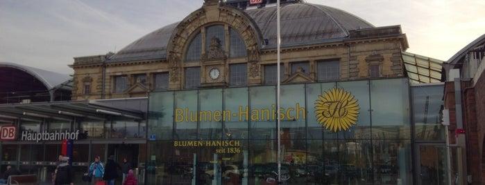 Halle (Saale) Hauptbahnhof is one of Bahnhöfe DB.
