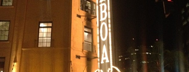 The Balboa Theatre is one of The Nederlander Network.