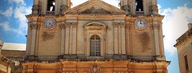St. Paul's Cathedral is one of Malta Cultural Spots.