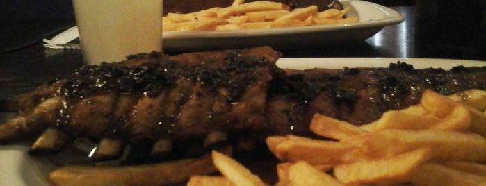 TGI Fridays is one of Dónde comer las mejores ribs en Buenos Aires.