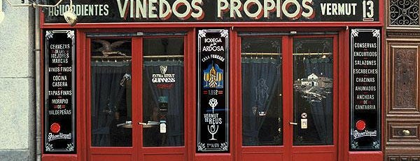 Bodega La Ardosa is one of Salir en Madrid.