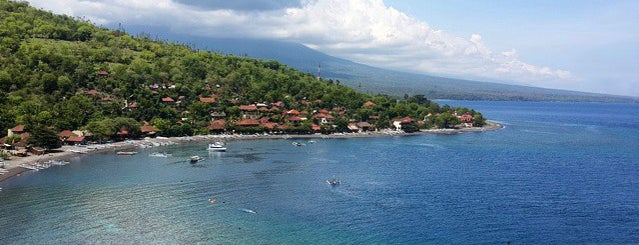Pantai Amed (Amed Beach) is one of Beautiful Beaches in Bali.