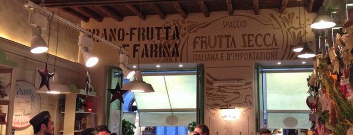 Grano Frutta e Farina is one of mangiato e bevuto bene.