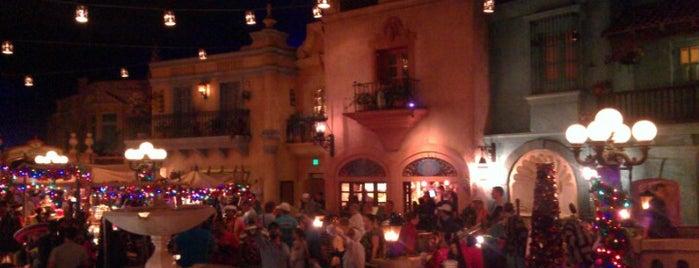 Plaza de Los Amigos is one of Walt Disney World - Epcot.