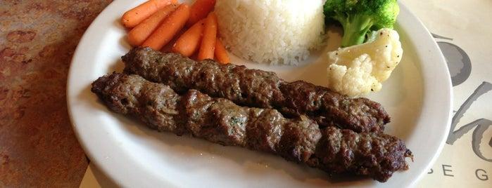 Shishka Lebanese Grill is one of Peewee's Big Ass South Florida Food Adventure!.