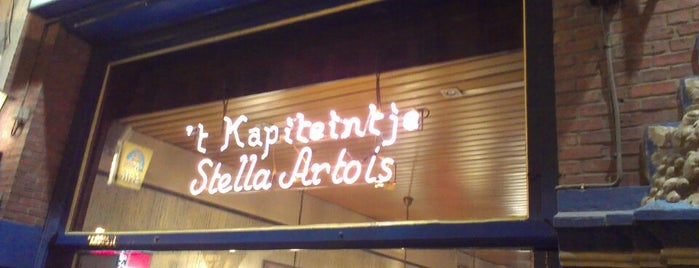 't Kapiteintje is one of Br(ik Caféplan - part 1.