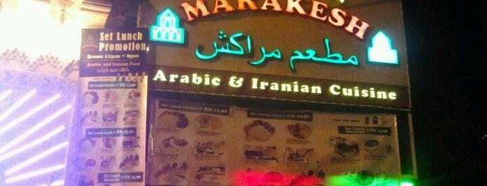 Marakesh: Arab Moroccan Restaurant is one of makan sedap.