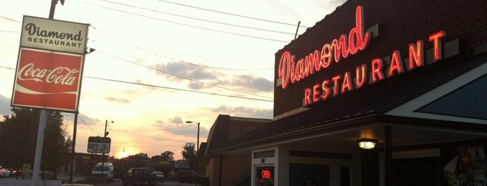 Diamond Restaurant is one of Charlotte Area Eats.