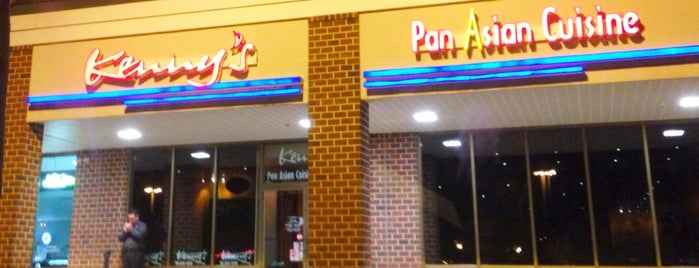 Kenny's Pan Asian Cuisine & Sushi Bar is one of N. Delaware.
