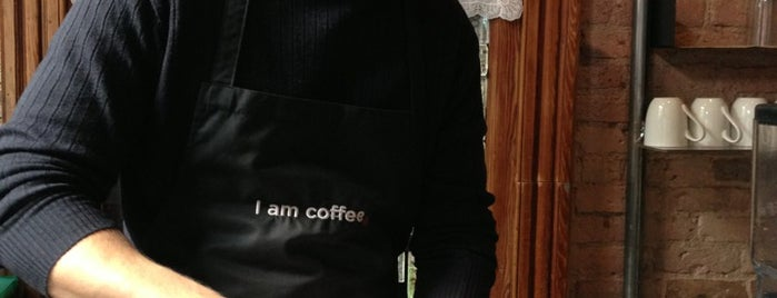 I Am Coffee is one of Manhattan's Best Coffee by Subway Stop.