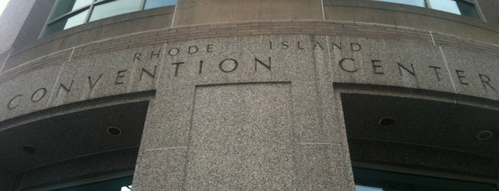 Rhode Island Convention Center is one of just a list of places.