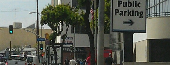 Los Angeles Fashion District is one of L.A..