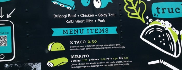Koi Fusion Truck is one of Diners, drive-ins, and such.