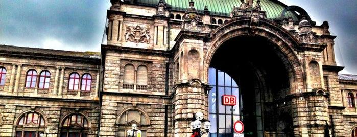 Nürnberg Hauptbahnhof is one of Bavaria.