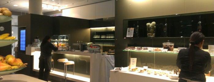 Lufthansa Senator Café (Schengen) is one of Lufthansa Lounges.