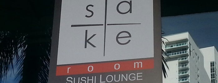 Sake Room is one of Miami.