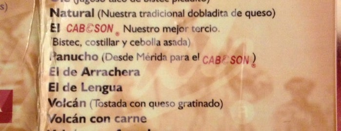 Cabeson Taurino is one of Restaurantes en los que he comido!!!.