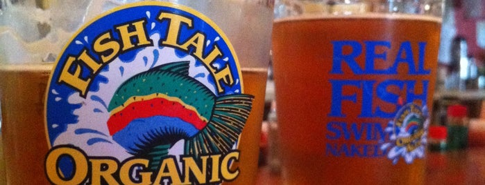 Fish Tale Brew Pub is one of Go.