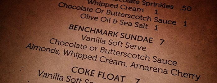 Benchmark Pizzeria is one of East Bay.
