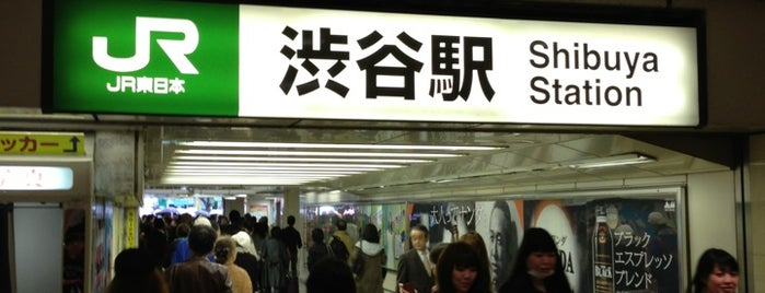 Shibuya Station is one of 埼京線.