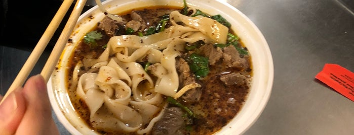 Lamb Noodle Soup is one of Real Cheap Eats NYC.
