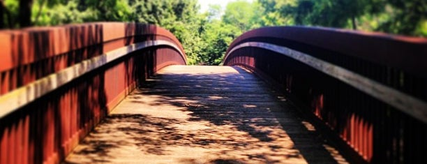 Constitution Trail @ Oakland Ave. Bridge is one of Krumbhaar.