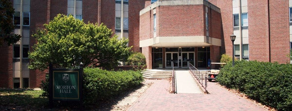 Morton Hall is one of Academic Buildings.