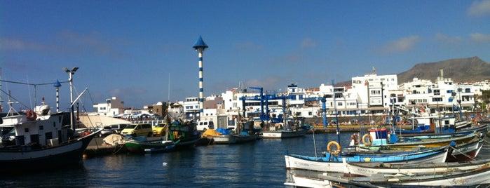 Puerto de Las Nieves is one of Gran Canaria.