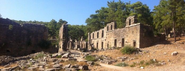 Lyrbe Antik Kenti is one of Historical Places in Antalya - Ören Yerleri.
