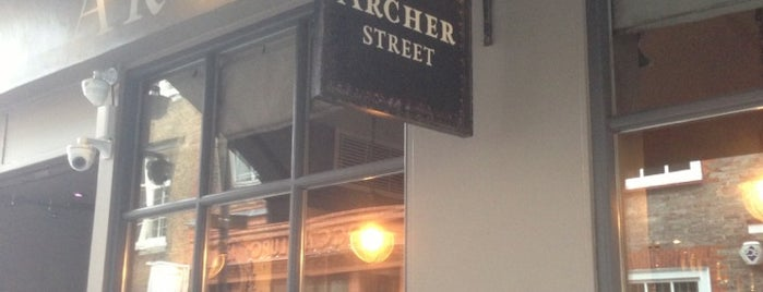 Archer Street is one of London Bars.